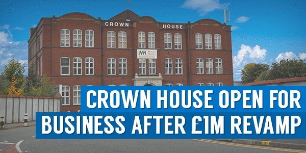 Crown House Open For Business After £1m Revamp