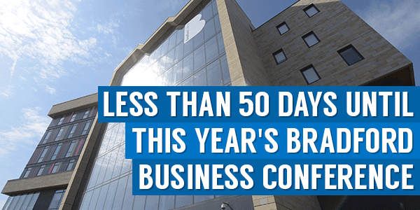 Less Than 50 Days Until This Year's Bradford Business Conference