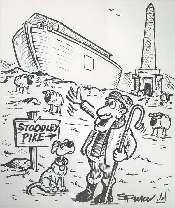 """Weekly Cartoon: """"It's Amazing What The Floods Washed Up!"""""""