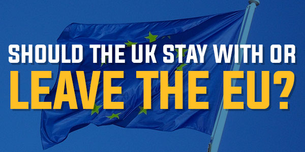 Poll: Should The UK Stay With, Or Leave The EU? | January 2016