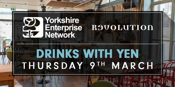 Drinks With YEN At Revolution Electric Press, Leeds | March 9th 2017