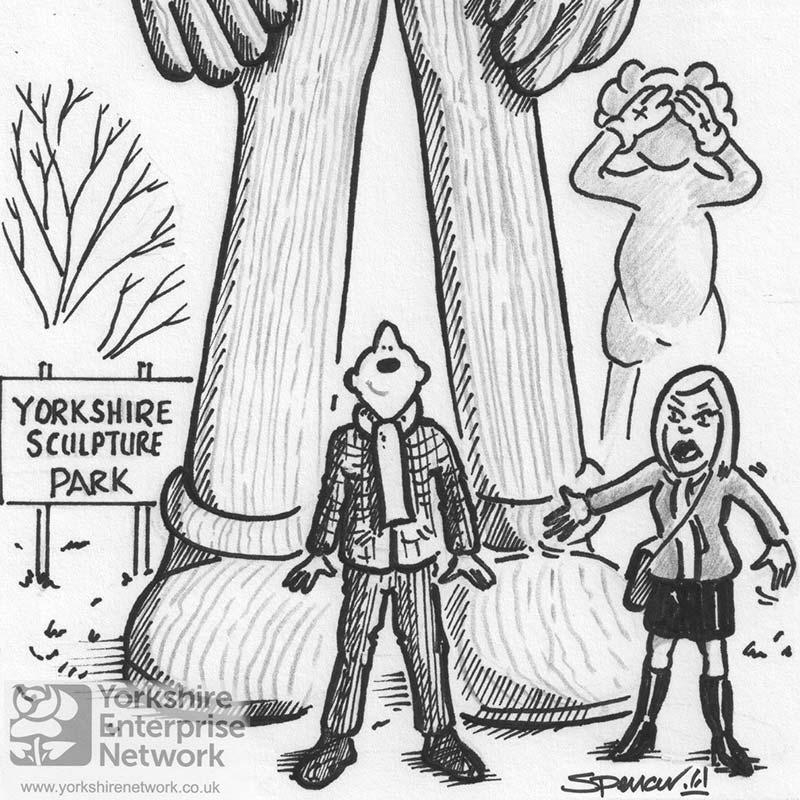 Weekly Cartoon: So Where Are These Giant Sculptures Then