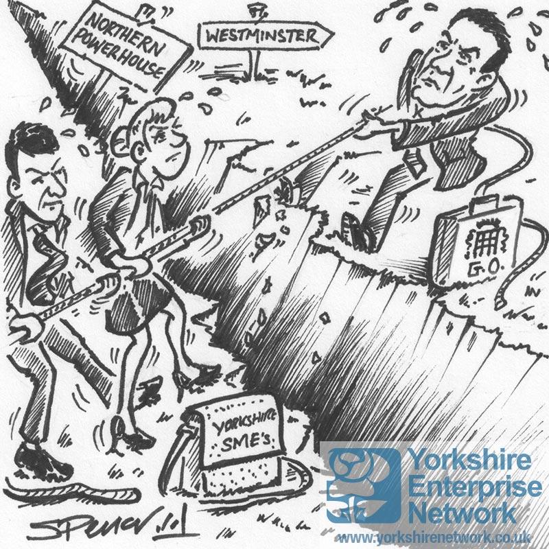 Weekly Cartoon: The Northern Powerhouse Tug-Of-War