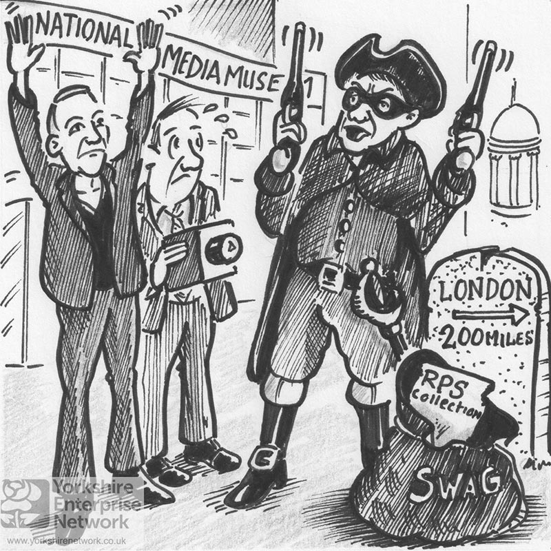 Weekly Cartoon: Stand And Deliver... Your Fox Talbot's Or Your Life!