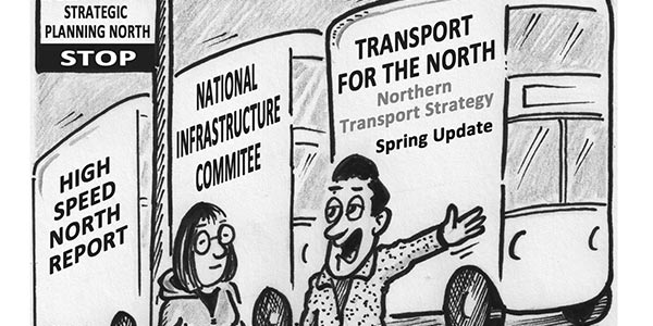 """YEN Cartoon: """"Typical… No Strategic Planning For The North In Years… Then Three Come Along All At Once"""""""