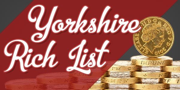 Top 10 - Yorkshire Rich List