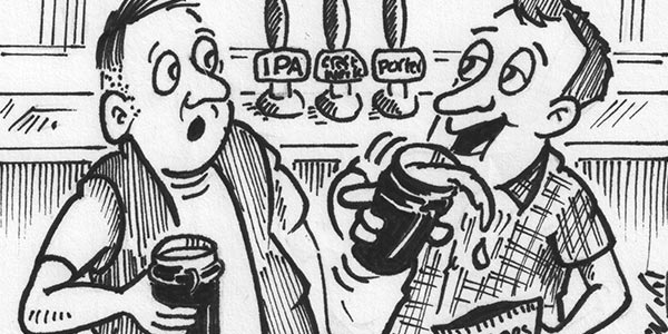 """YEN Cartoon: """"I Weren't Right Keen On T' Powerhouse, But This 'Northern Beerhouse' Initiative Is Growing On Me!"""""""