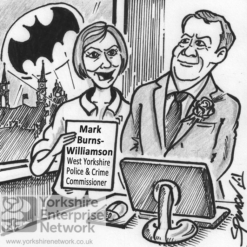 YEN Cartoon: So Mark, If Re-Elected, What's This New Crime Fighting Initiative You've Got Planned?