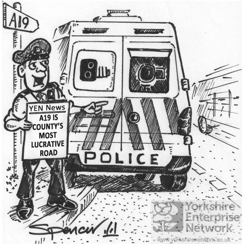 YEN Cartoon: Another Two Like Him And We'll Have Enough For A New Safety Camera Van?