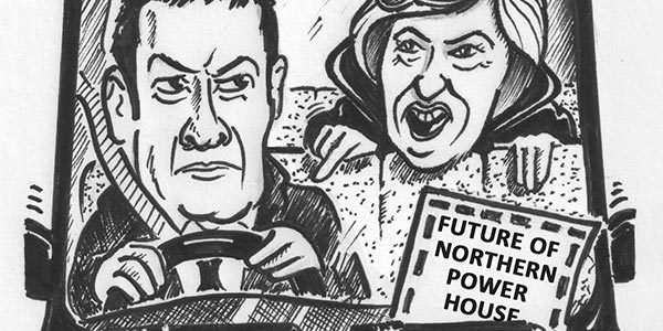 "YEN Cartoon: ""Time To Let Someone Else Do The Driving, George!"""