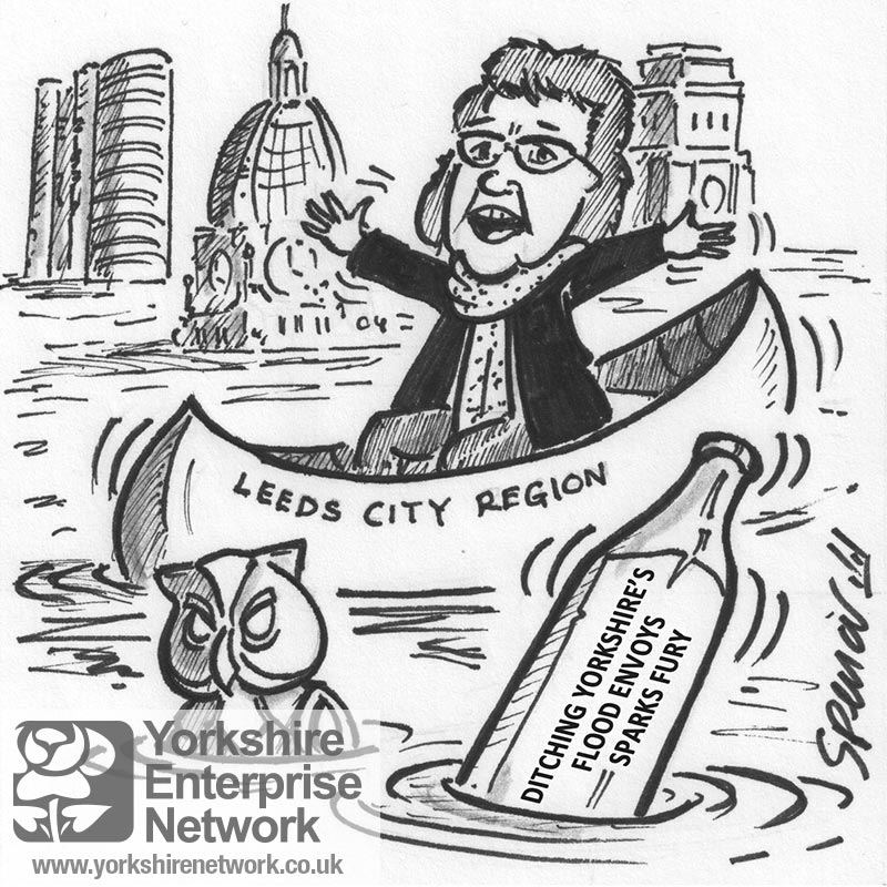 YEN Cartoon: We're Really Up The Creek Without A Paddle Now!