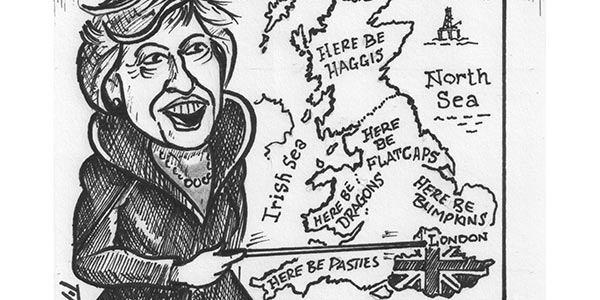 YEN Cartoon: Theresa May Block The Northern Powerhouse