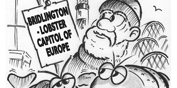 YEN Cartoon: Bridlington Crowned The Lobster Capital Of Europe