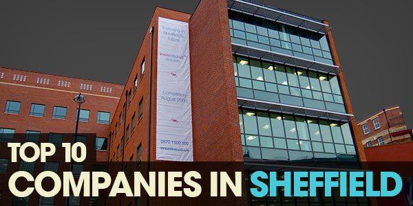 YEN Top 10 - Companies In Sheffield