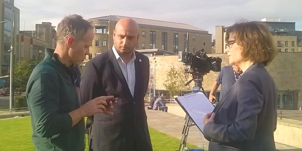 YEN Director Sheraz Malik Appears On BBC's 'Brexit Britain' Programme