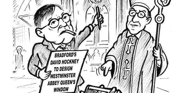 Bradford's David Hockney To Design Westminster Abbey Queen's Window