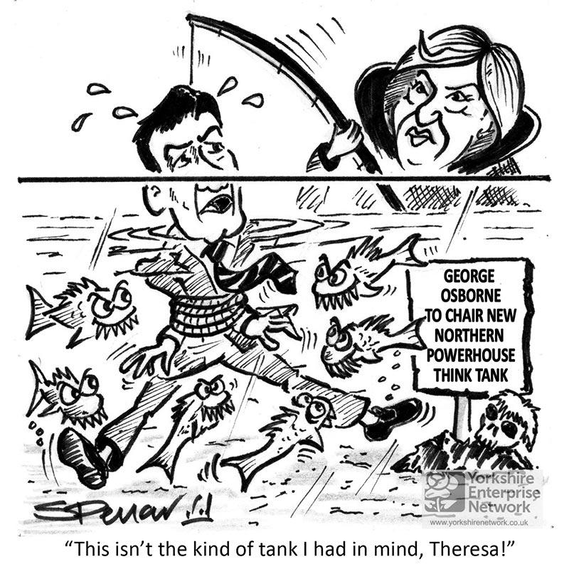 YEN Cartoon: George Osborne To Chair New Northern Powerhouse Think Tank