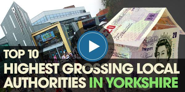 YEN Top 10: Highest Grossing Local Authorities in Yorkshire