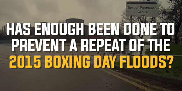 Poll: Has Enough Been Done To Prevent A Repeat Of The 2015 Boxing Day Floods? | November 2016