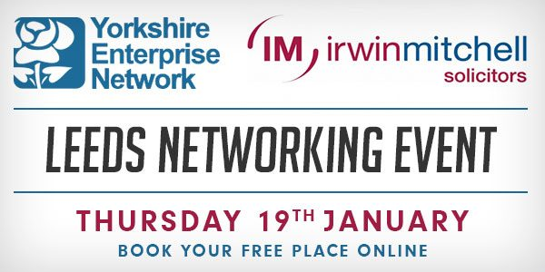 Leeds Networking Event With Irwin Mitchell | January 19th 2017