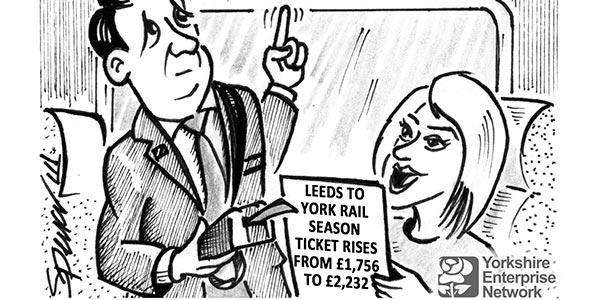 YEN Cartoon: Leeds To York Rail Season Ticket Rises From £1,756 To £2,232