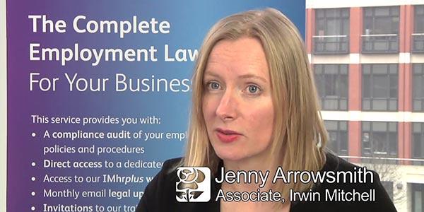 Irwin Mitchell Interview: Jenny Arrowsmith on Employment Law