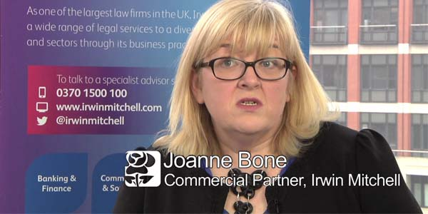 Irwin Mitchell Interview: Joanne Bone on Data Protection Law