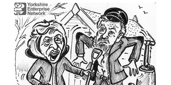 YEN Cartoon: UK Must Become More Self-Sufficient Says New Leeds University Report