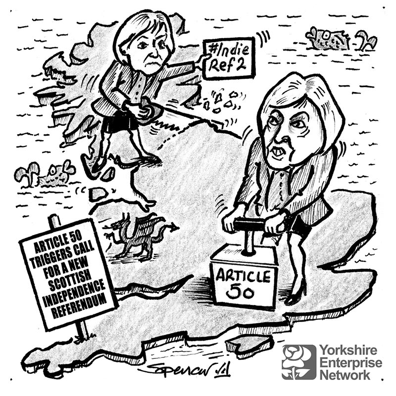 YEN Cartoon: Article 50 Triggers Call For A New Scottish Independence Referendum