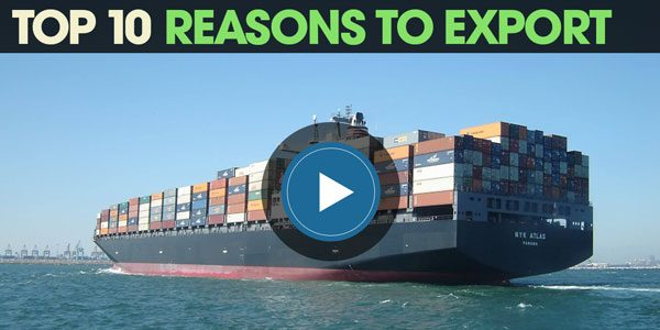 YEN Top 10: Reasons For Businesses To Export