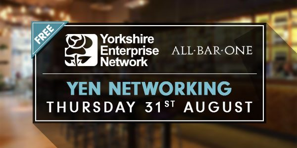 YEN Networking At All Bar One, Millennium Square Leeds | August 31st 2017