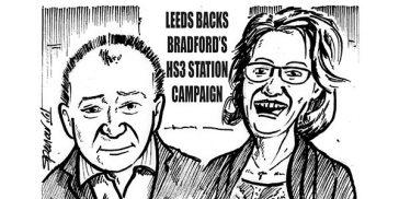 YEN Cartoon: Leeds Backs Bradford's HS3 Station Campaign
