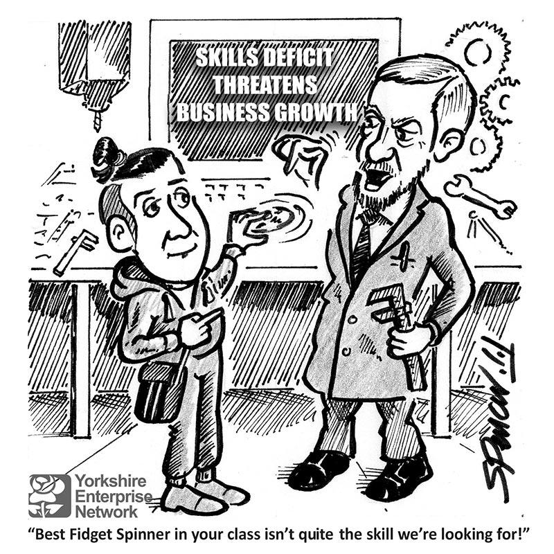 YEN Cartoon: Skills Deficit Threatens Business Growth