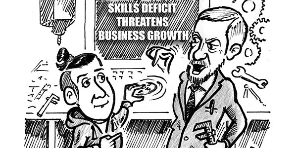 YEN Cartoon: Skills Deficit Threatens Business Growth