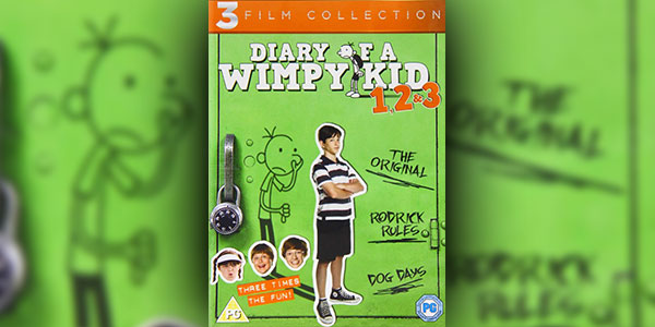 Win A DVD Boxset Of 'Diary Of A Wimpy Kid 1-3'