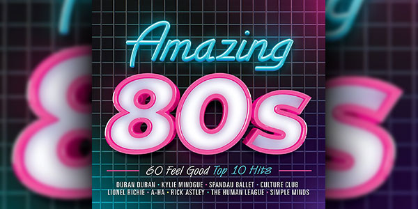 Win The 'Amazing 80's' CD Boxset