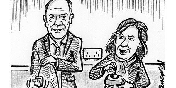 YEN Cartoon: Grayling Pulls Plug On Electrified Rail Line To Sheffield