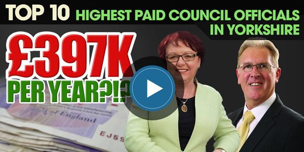 YEN Top 10: Yorkshire's Highest Paid Council Officials