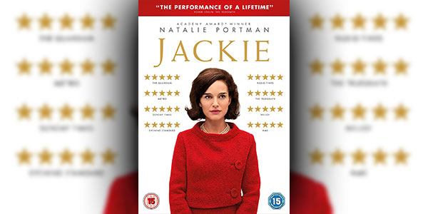 Win A DVD Copy of 'Jackie' (2016)