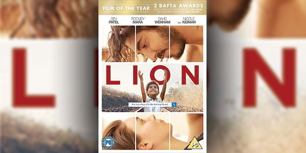 Win A DVD Copy of 'Lion' (2016)