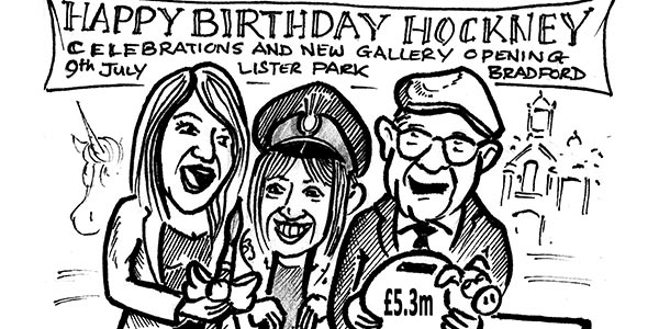 YEN Cartoon: Yorkshire Gets £5.3 Million in Arts Funding