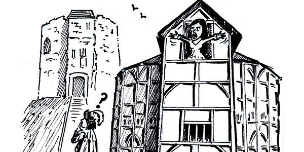 YEN Cartoon: The Bard's Globe Theatre Pops Up In York