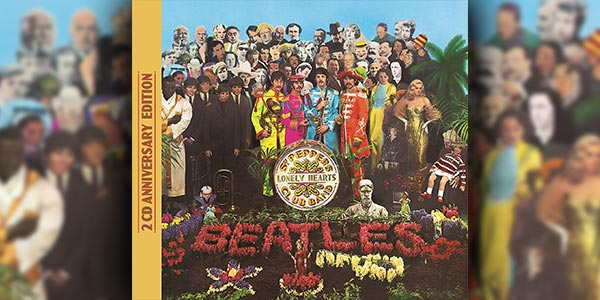 Win The Beatles 'Sgt Pepper's Lonely Heart Club Band' CD Reissue