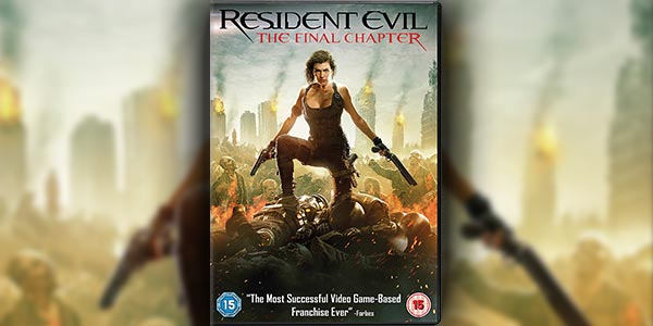 Win The 'Resident Evil: The Final Chapter' DVD