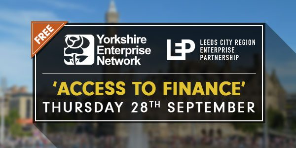 'Access To Finance' YEN & LEP Event | September 28th 2017