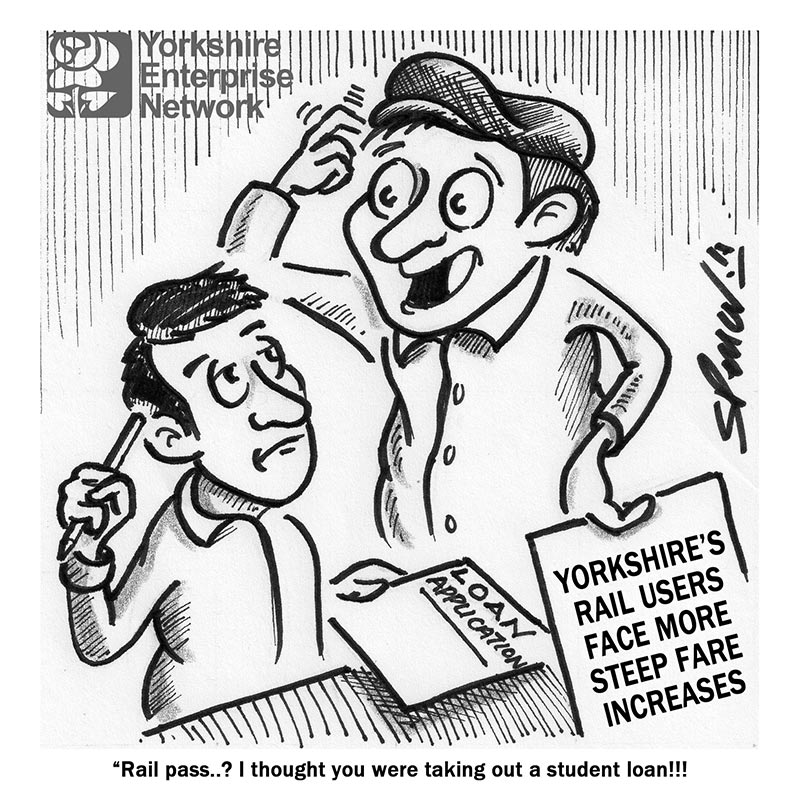 YEN Cartoon: Yorkshire's Rail Users Face More Steep Fare Increases