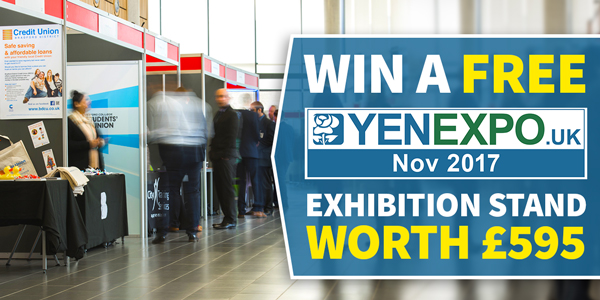 Win A Free Exhibition Stand At YEN Expo 2017