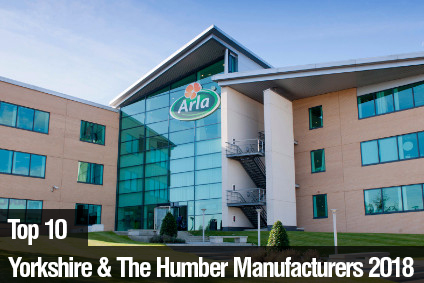 Top 10 Yorkshire & The Humber Manufacturers