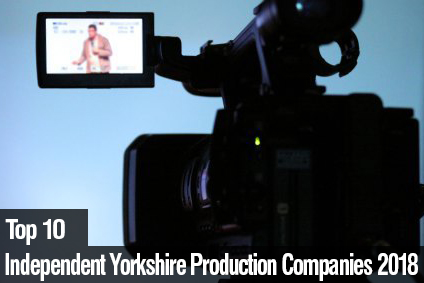 Top 10 Independent Yorkshire Production Companies 2018