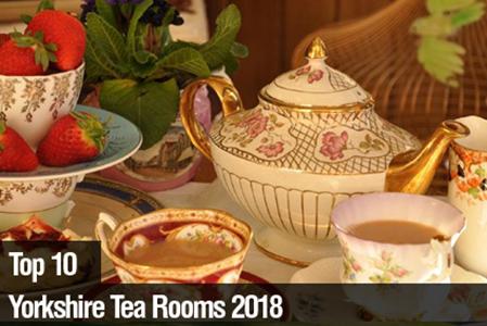 Top 10 Tea Rooms In Yorkshire